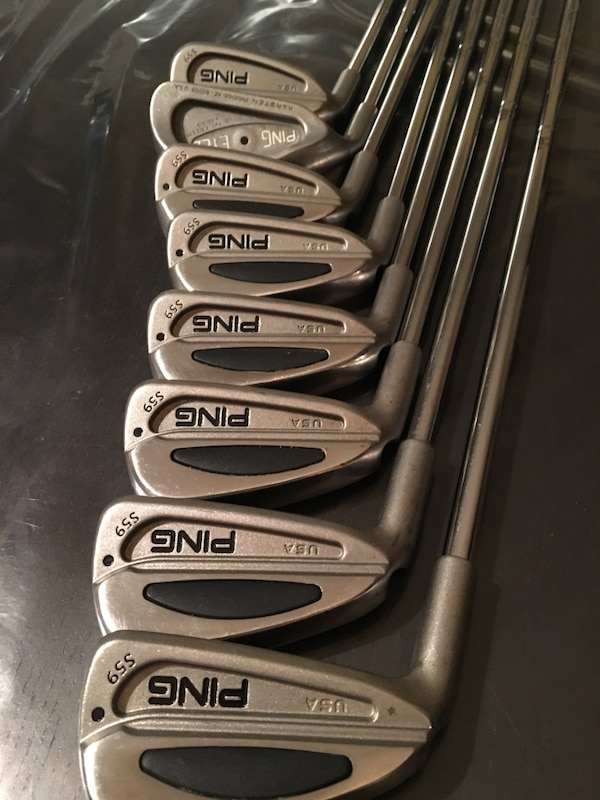 Stainless steel ping golf club set
