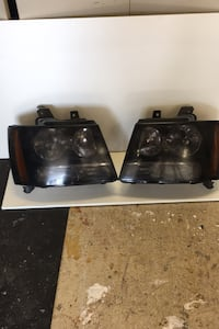 Chevy avalanche 07 to 13 Tinted head light lenses  $100 or best offer Ajax, L1S 6S2