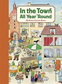 IN THE TOWN ALL YEAR 'ROUND PICTURES HARDCOVER BOOK