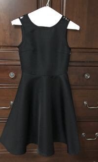 black dress with sparkly lace back Markham, L3T 7N1