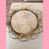 Antique brocade tray Whitby, L1N 8X2