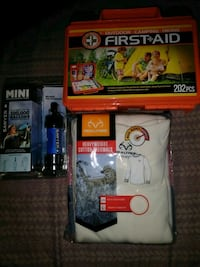 Assorted camping items 365 mi