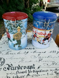 VERY NICE DECORATIVE COLLECTABLE TIM HORTONS TINS Montreal, H9H 1E3