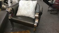 Grey accent chair Irving, 75062