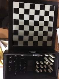 Travel Chess set with pen Bowie, 20721