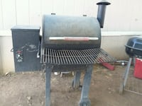 I'm selling a smoker and a basketball court  Porterville, 93257