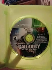 Call of Duty Black Ops Xbox 360 game disc Knoxville, 37920