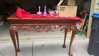 Ornate sofa table Atlanta, 30338