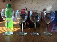 four wine glasses Wilmington, 28401