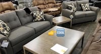 SPECIAL] Tibbee Slate Living Room Set. Sofa loveseat