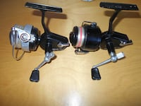2 Metal French Fishing reel Mitchell 206, nice