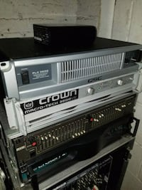 Crown k1, rane eq and qsc plx2 3602  Newburgh, 12550