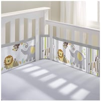 Breathable Mesh Crib Liner/Hanging Cloth Storage