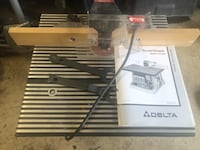 Delta Router/Shaper table Silver Spring, 20902