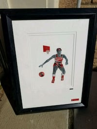 Coca-Cola Collectable Basketball Art Piece Chantilly, 20152