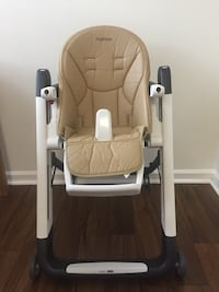 Peg Perego Highchair Siesta Beige