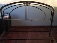 Headboard in copper and brass Mont-Royal, H3P 1X1