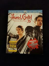 3D Blu-Ray combo - Hansel & Gretel - Unrated Cut Greenacres, 33413