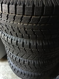 4 sat of tires and rims still brand new tires and rims TOYO size  [PHONE NUMBER HIDDEN] S Brampton, L6R 3M6