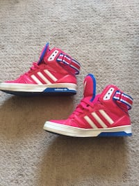 Red-and-blue adidas high-top sneakers Hamilton, L8V 2R7