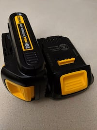 New DeWALT 2X 20V Batteries Brampton