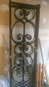 Wrought iron screen/ room divider