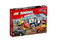 LEGO 10743 JUNIORS IL GARAGE DI SMOKEY LEGO JUNIORS