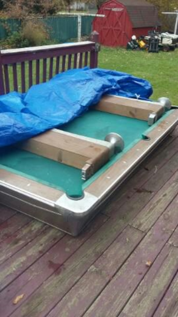 Used Fischer Bar Style Pool Table For Sale In Clare Letgo - Fischer pool table