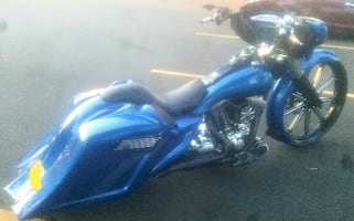 "road king 30"" bagger harley victory and street glide road glide f150 with ram"