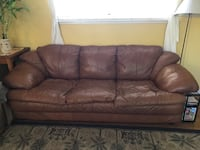 Free leather couch Concord, 94518