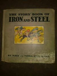 THE STORY BOOK OF IRON AND STEEL.  1935