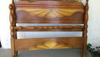 Antique bed Frame head board and footboard Anniston, 36206