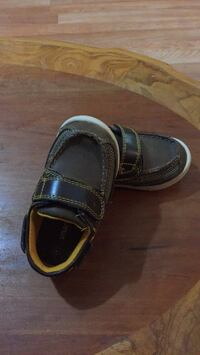pair of black leather loafers Mayflower, 72106