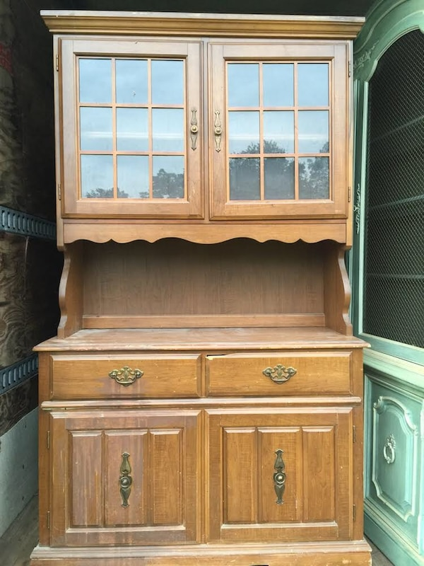 Used Vintage Bassett Kitchen Hutch For Sale In Country Club Hills