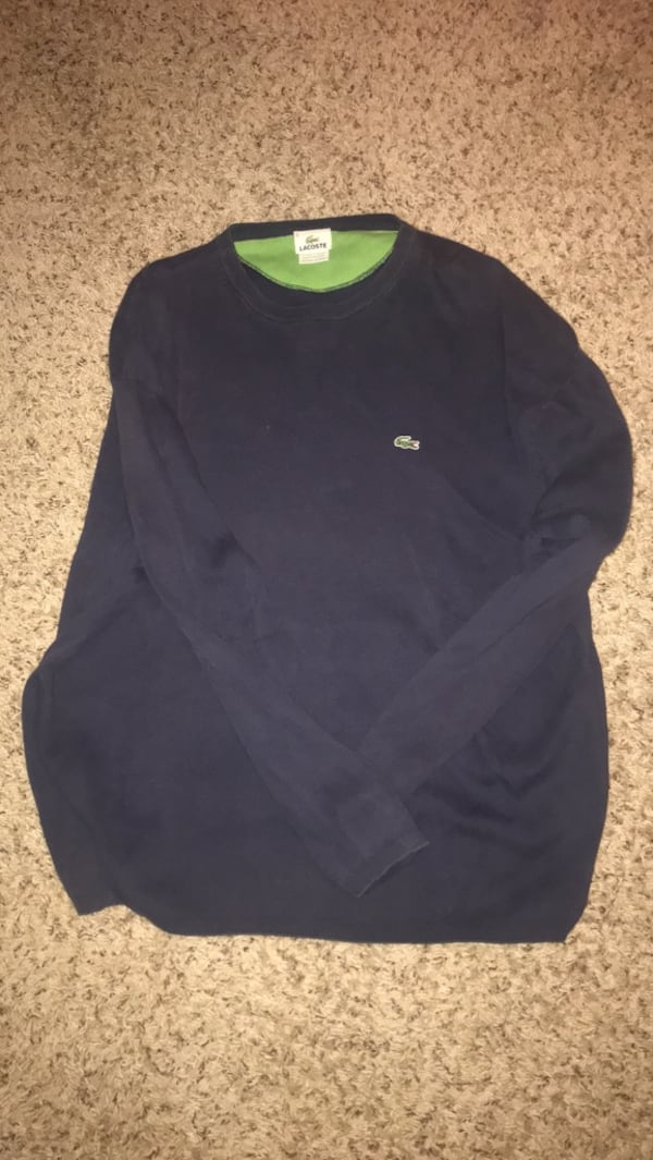 Lacoste Sweater - Navy 34d4bfbb-6376-450b-bfe7-2a2845684c67