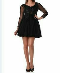 Robe cocktail tulle taille 34