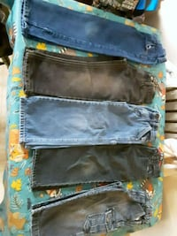 5 toddler jeans bundle.