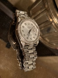 Silver Automatic Watch Vienna, 22182