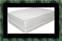 King mattress double pillowtop with split box Fairfax