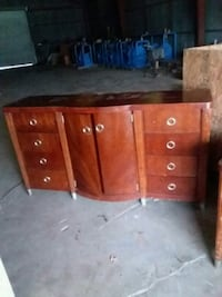 brown wooden dresser with mirror New Iberia, 70560