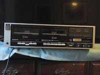 **Sanyo Double Cassette Deck Player ** Fresno
