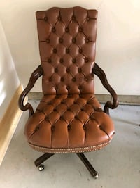 Leather Office Chair St. Catharines, L2R 6B5