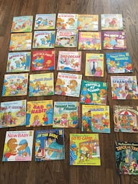 Berestain bears book collection