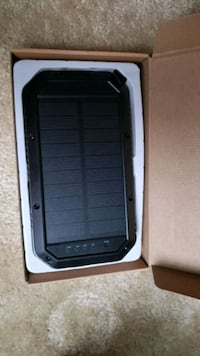Solar Charger, 25000mAh Battery Solar Power Bank Portable Panel Charge