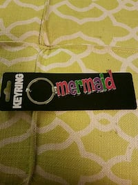 Mermaid key ring brand new price firm see 2nd pic Meriden, 06451