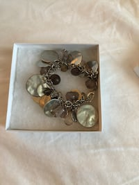 Charm bracelet - price negotiable- retails for $30 comes with box Toronto, M2N