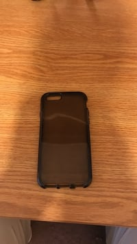 black iPhone case with black iPhone case