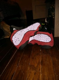Red and Black youth USED Jordans 7y Columbus, 31906