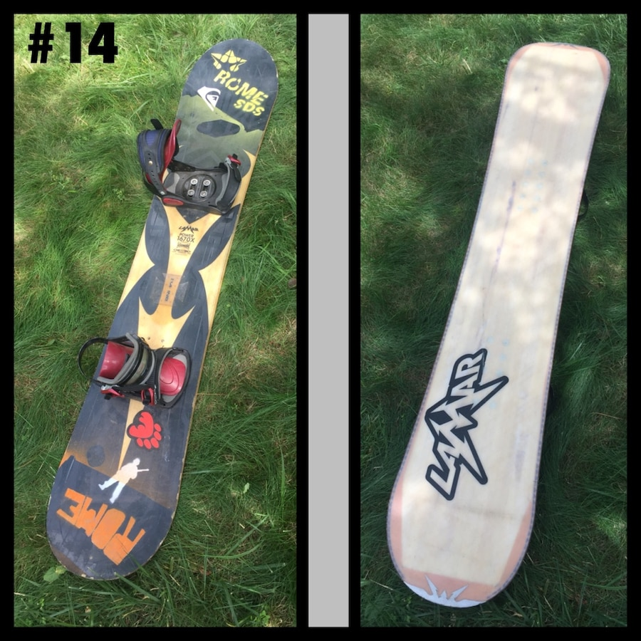 LAMAR Power 167cm Snowboard With... In Manalapan, NJ