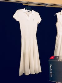 Ralph Lauren White Dress Size Small  Lake Wales, 33853